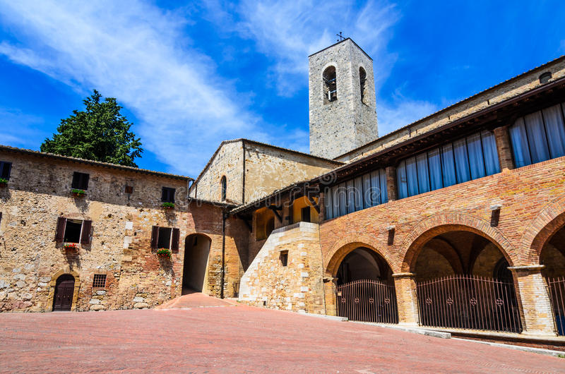 San Gimignano, Tuscany, Italy stock photos