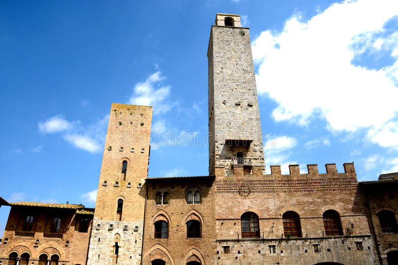 San Gimignano. Tuscany.Italy stock photos