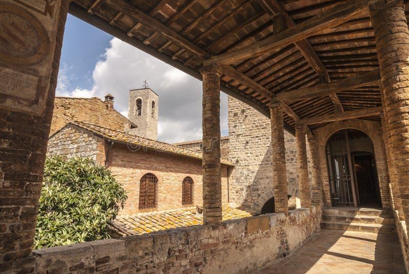 San Gimignano (Tuscany) royalty free stock image