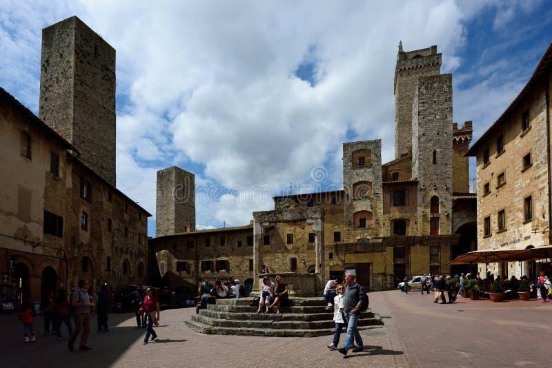 San Gimignano, UNESCO, Tuscany, Italia royalty free stock photo