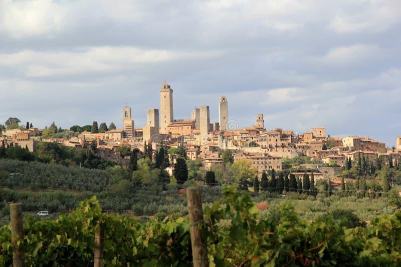 San Gimignano w Włochy fotografia stock