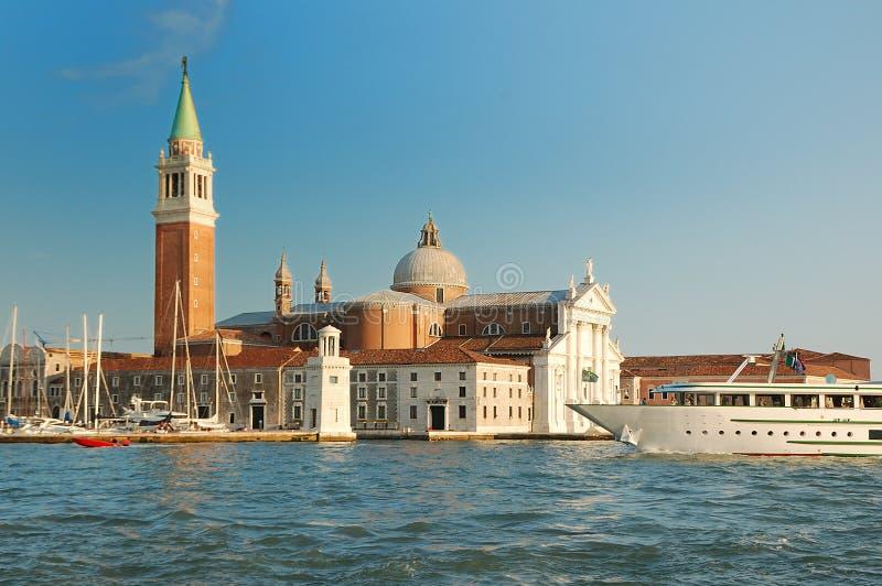 San Giorgio bazyliki maggiore Wenecji obraz royalty free