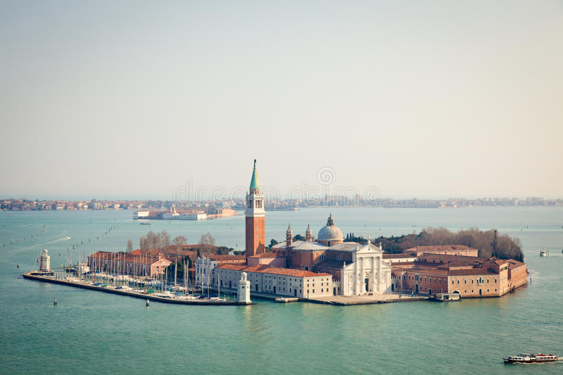 Download San Giorgio Maggiore stock image. Image of evening, building - 25179139