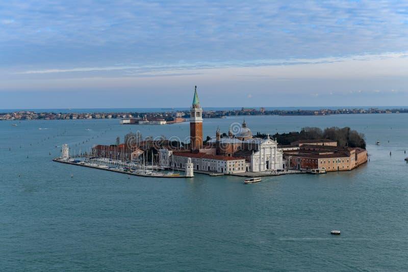 San Giorgio Maggiore kościół - Wenecja, Włochy obrazy stock