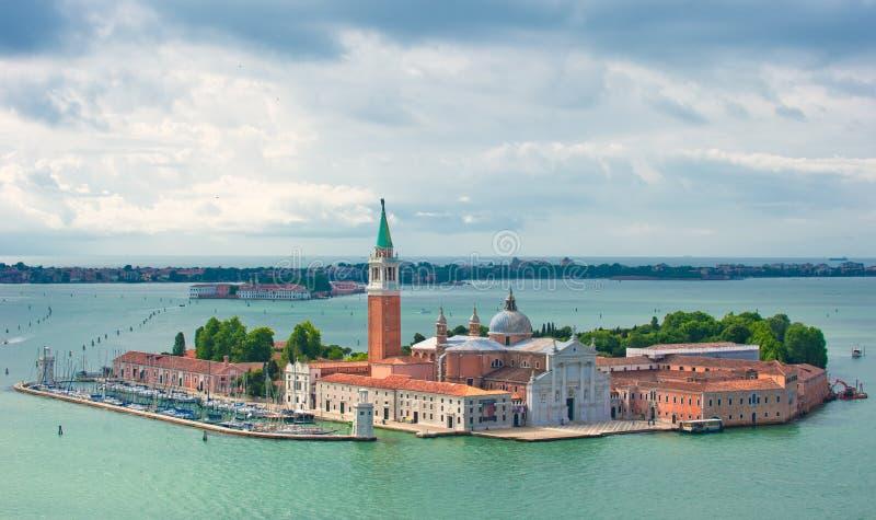 San Giorgio Maggiore, Veneza, Italy imagens de stock