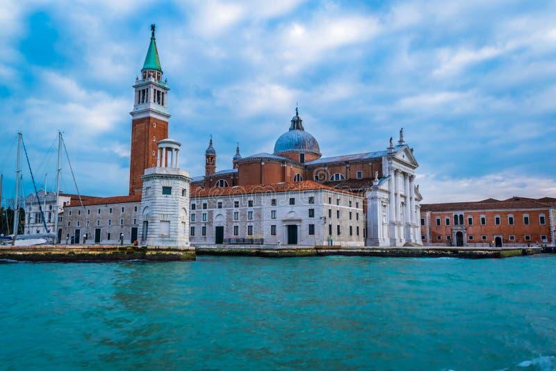 San Giorgio, Wenecja, Włochy fotografia royalty free