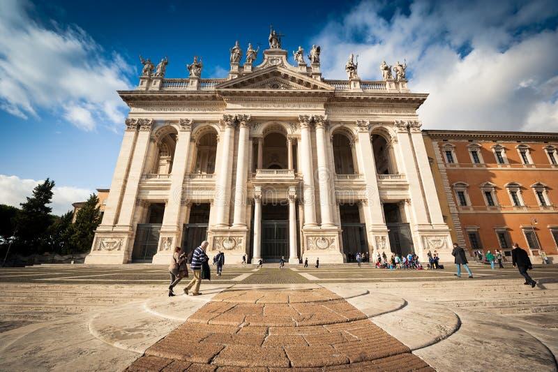 San Giovanni al Laterano Basilica stock fotografie