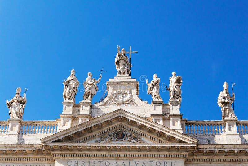 San Giovanni al laterano, Christo Salvatori royalty free stock images