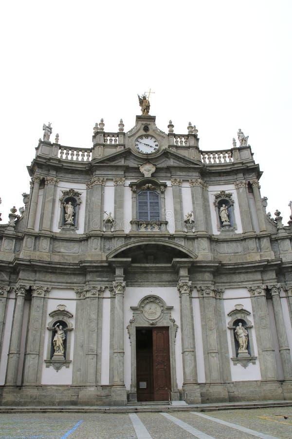 San Giovanni Battista, église dans Morbegno, Italie en Lombardie photographie stock libre de droits