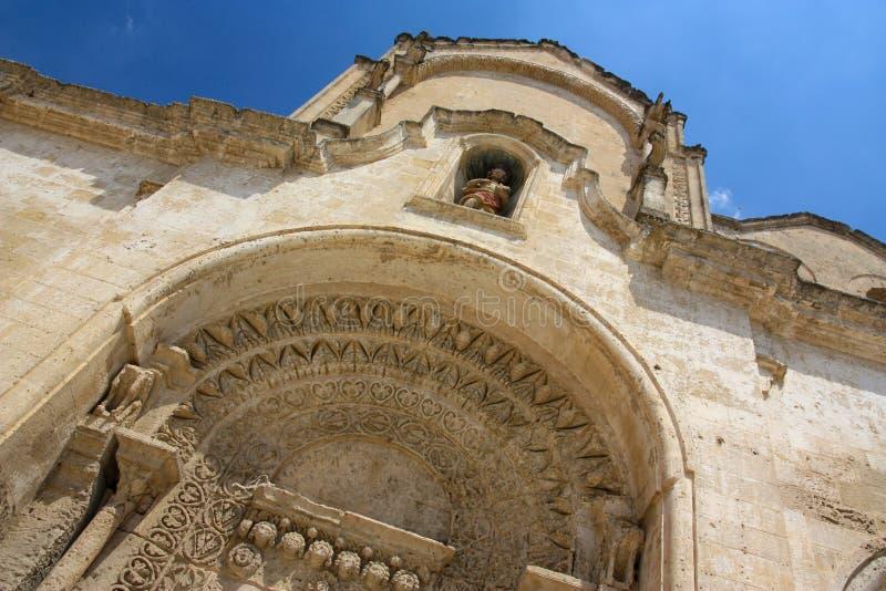 Download San Giovanni Battista Church In Matera, Italy Stock Photo - Image: 6987990