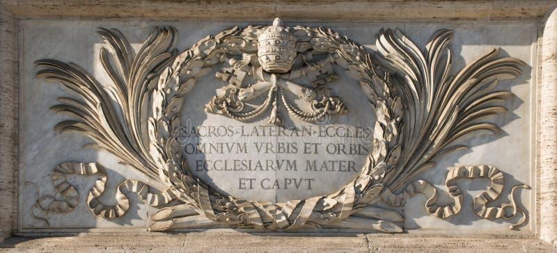San Giovanni domkyrkas platta royaltyfri fotografi