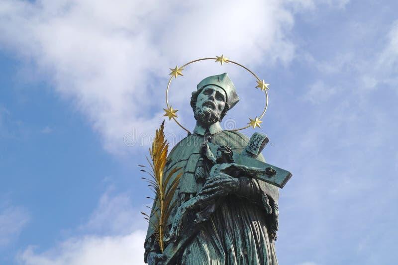 San Giovanni Nepomuceno fotografie stock libere da diritti