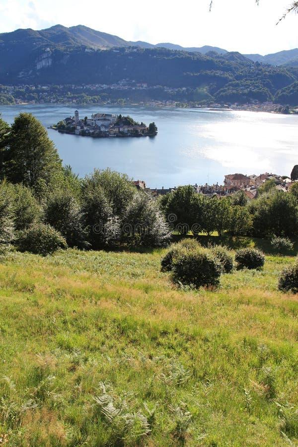 Download San giulio island stock image. Image of landscapes, tourism - 20331369