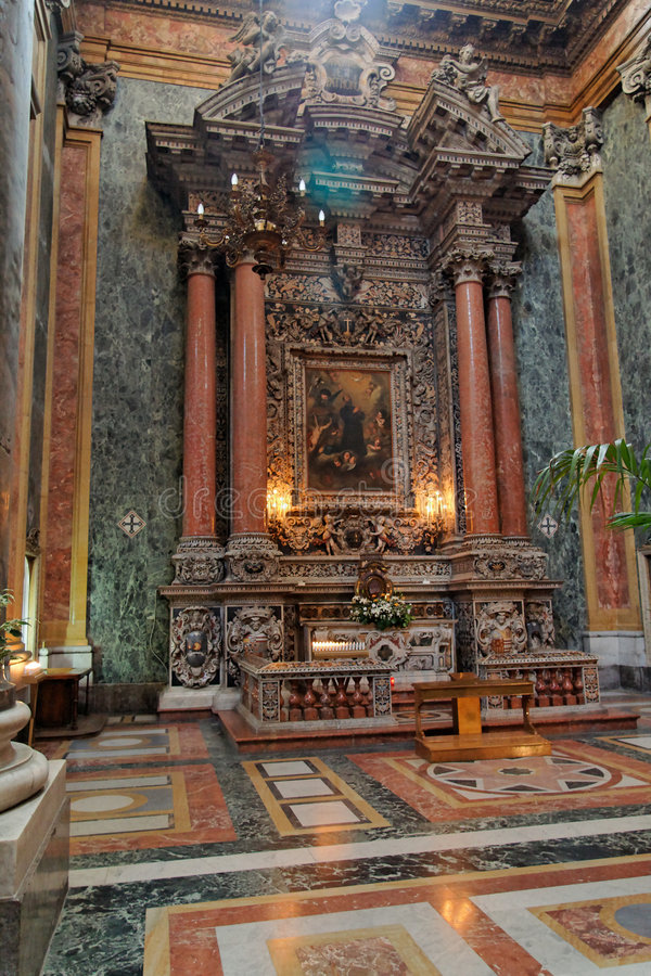 Download San Giuseppe Dei Teatini Altar Sicily Italy Royalty Free Stock Photography - Image: 5621347