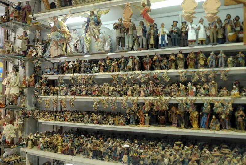 Download San Gregorio Armeno Craftsmen Editorial Stock Photo - Image: 83834758