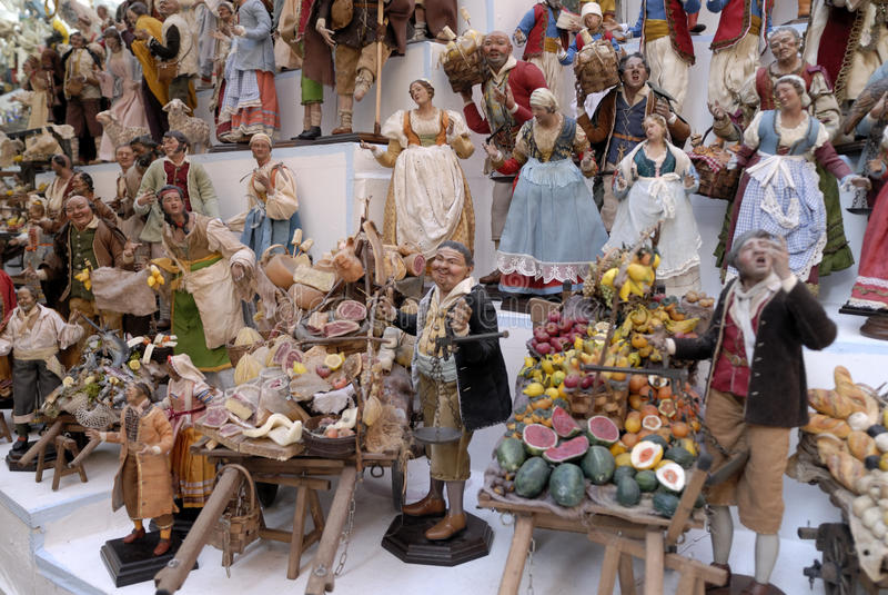 Download San Gregorio Armeno Craftsmen Editorial Photography - Image of christmas, figurines: 83834797