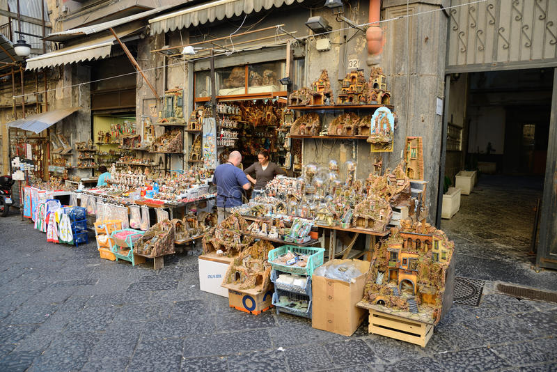 Download San Gregorio Armeno In Naples Italy Editorial Photography - Image: 34855307