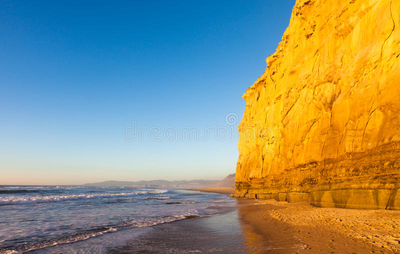 Download San Gregorio Beach stock photo. Image of erosion, coast - 27889782