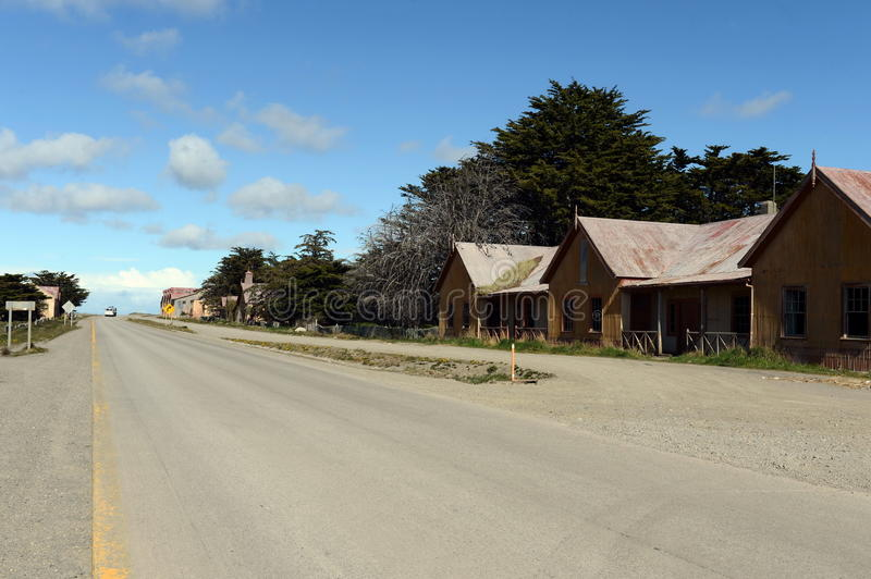 San Gregorio commune in Chile. SAN GREGORIO, CHILE - NOVEMBER 11,2014:San Gregorio commune in Chile. Is part of the province and Magallanes region Magallanes and royalty free stock photo