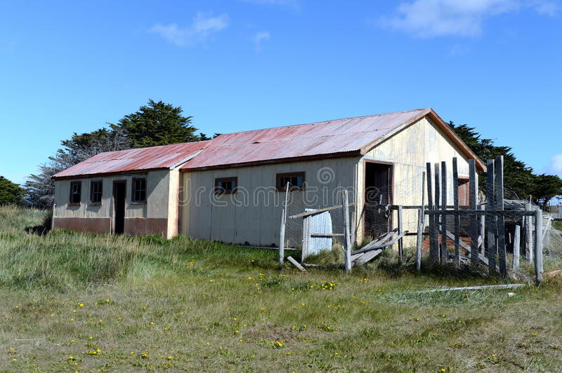 San Gregorio commune in Chile. SAN GREGORIO, CHILE - NOVEMBER 11,2014:San Gregorio commune in Chile. Is part of the province and Magallanes region Magallanes royalty free stock photos