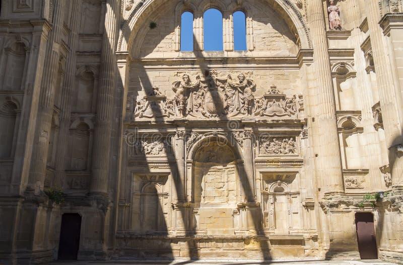 San idoso Francisco Convent, realmente auditório, Baeza, Espanha fotografia de stock