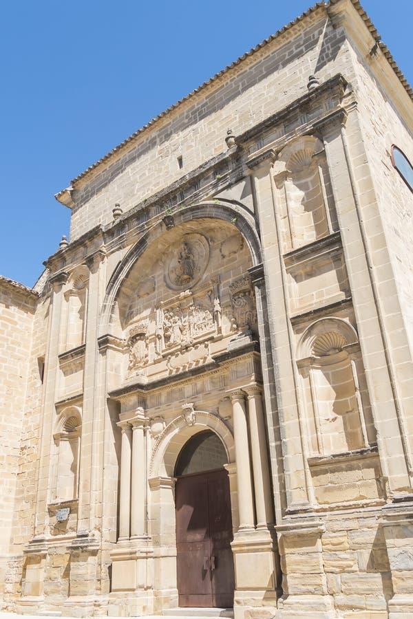 San idoso Francisco Convent, realmente auditório, Baeza, Espanha imagens de stock