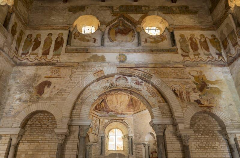 San interno Johannes di Baptisterium fotografia stock libera da diritti