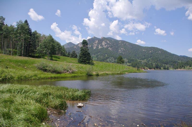 San Isabel Lake royalty-vrije stock afbeeldingen