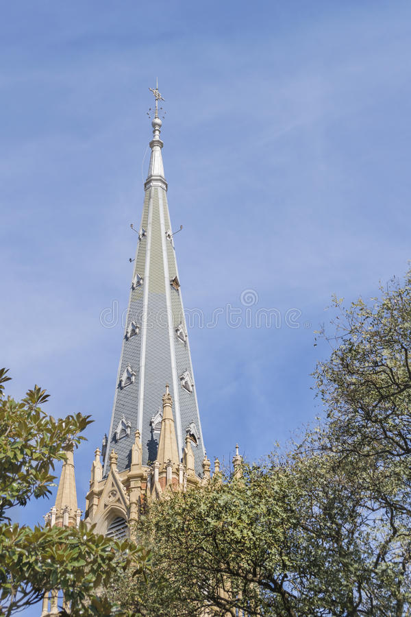 San Isidro Cathedral Buenos Aires Argentina fotografia stock