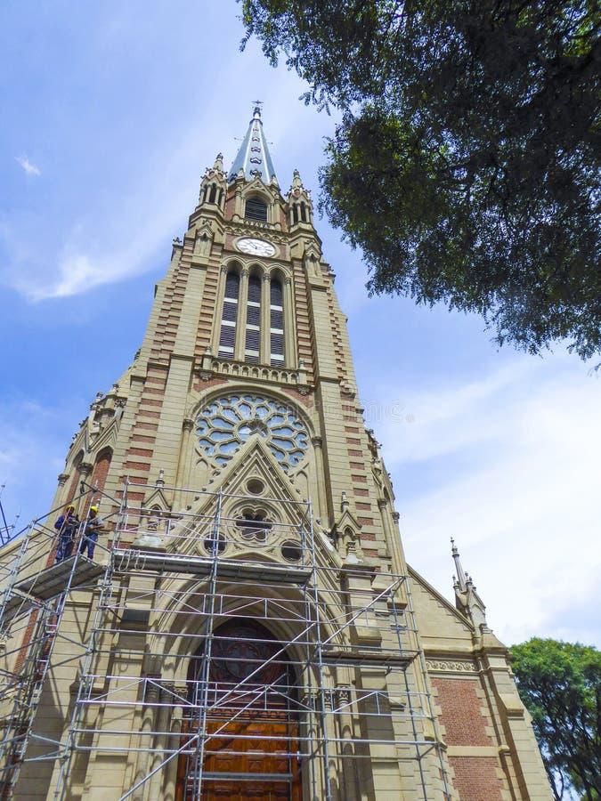 San Isidro Cathedral Buenos Aires Argentina immagine stock libera da diritti