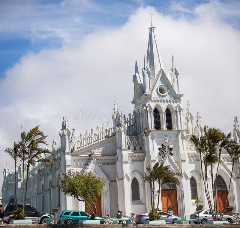 San Isidro Catholic Church royaltyfri bild