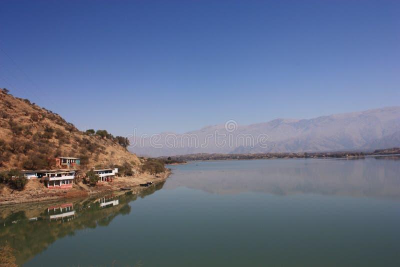 San Jacinto Dam royalty-vrije stock foto's