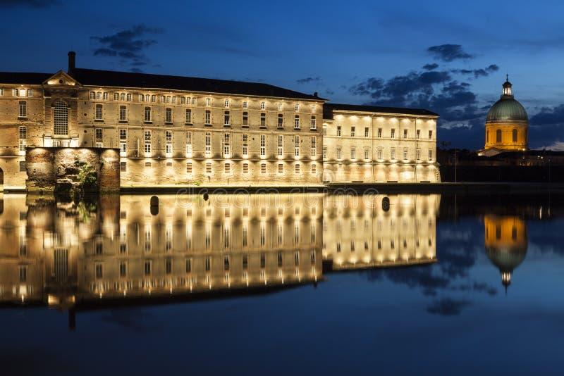 San Jacques - vecchio ospedale di Dieu dell'hotel a Tolosa fotografie stock libere da diritti