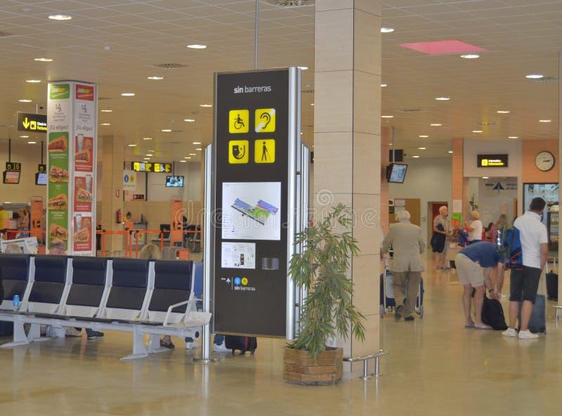 San Javier lotnisko W Murcia zdjęcie royalty free