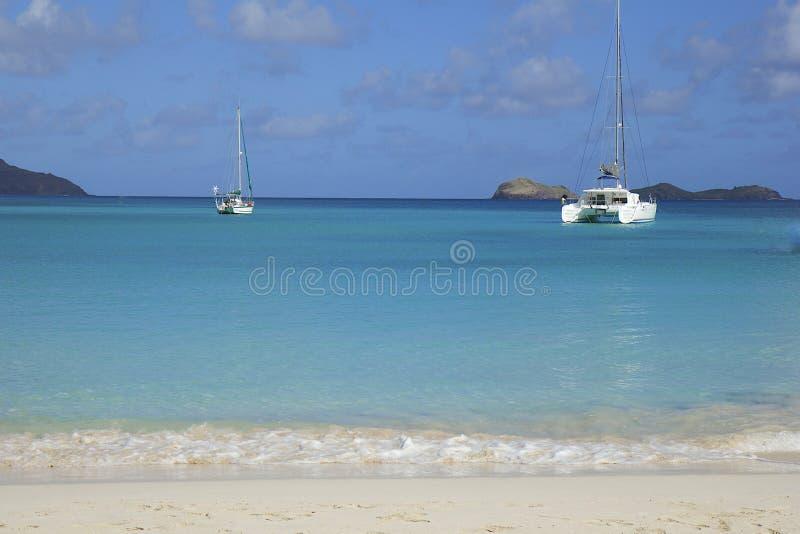 San Jean strand i St Barths som är karibisk royaltyfria foton