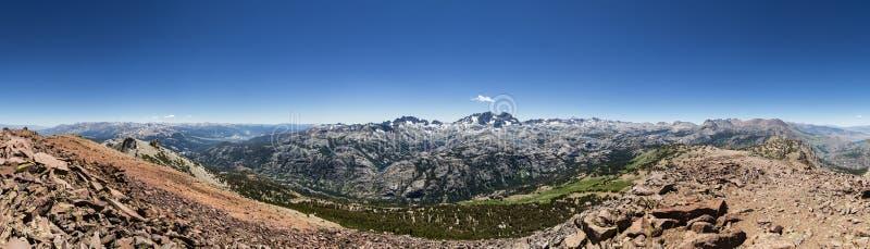 San Joaquin szczytu panorama zdjęcie royalty free