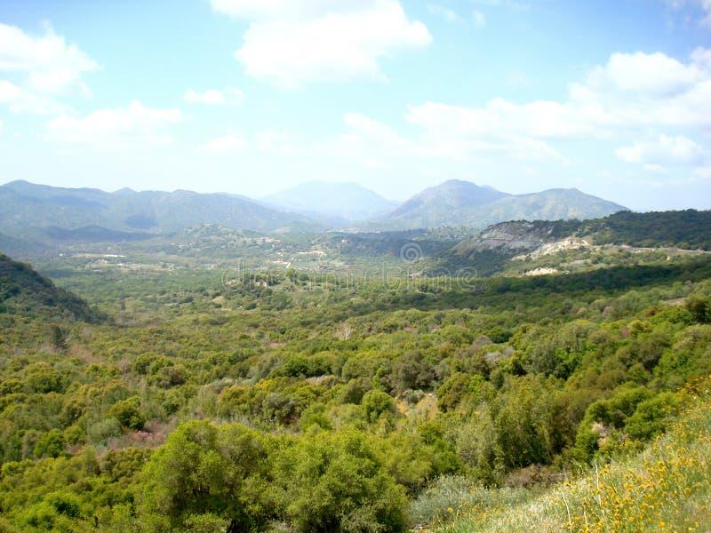 San joaquin valley fotografia stock