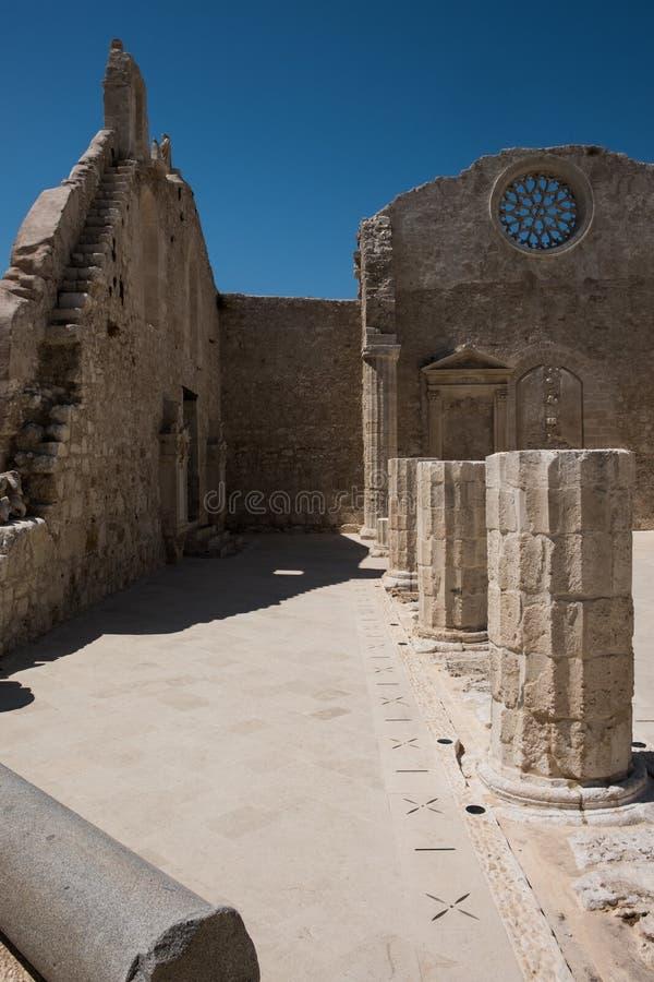 San John Church a Siracusa, Sicilia immagini stock libere da diritti