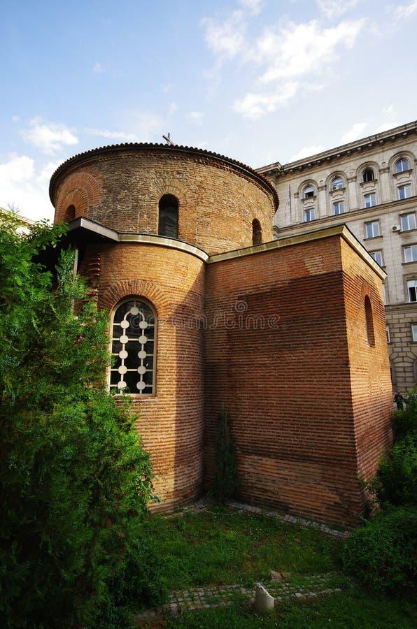 San Jorge de la Rotonda, Sofía, Bulgaria imagenes de archivo