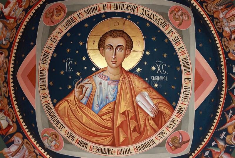 San Jorge la nueva iglesia Bucarest, Rumania imágenes de archivo libres de regalías