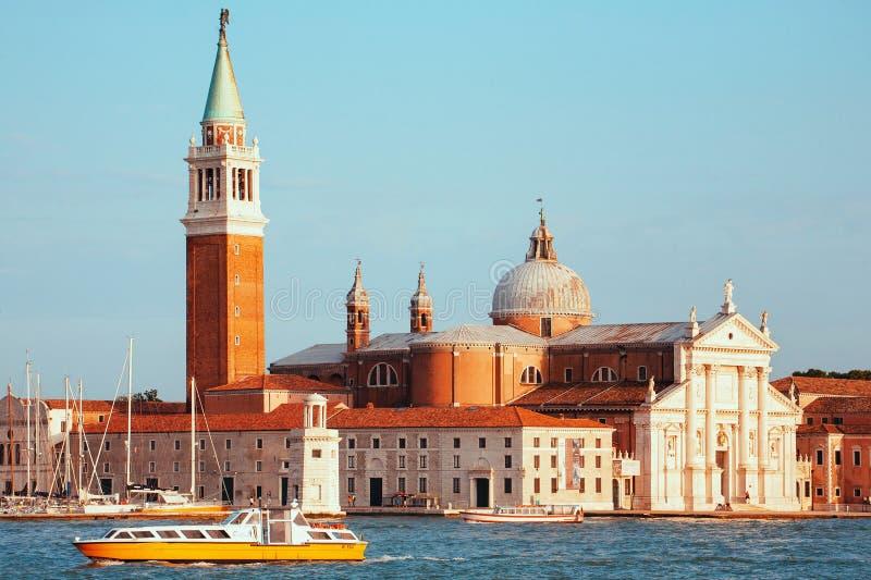 San Jorge Maggiore, Venecia imágenes de archivo libres de regalías