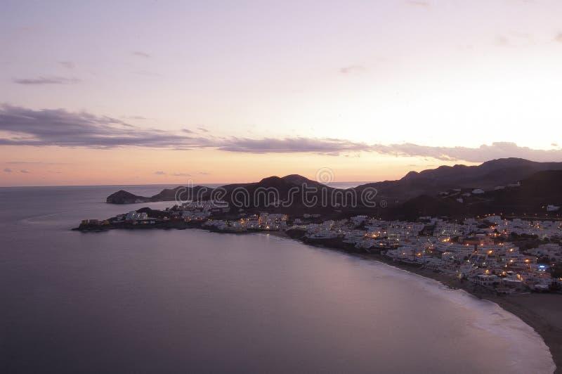 San Jose, Cabo de Gata, Andalucia obrazy stock