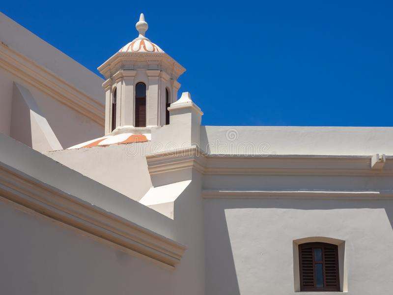 San Jose Catholic Church en San Juan Puerto Rico foto de archivo
