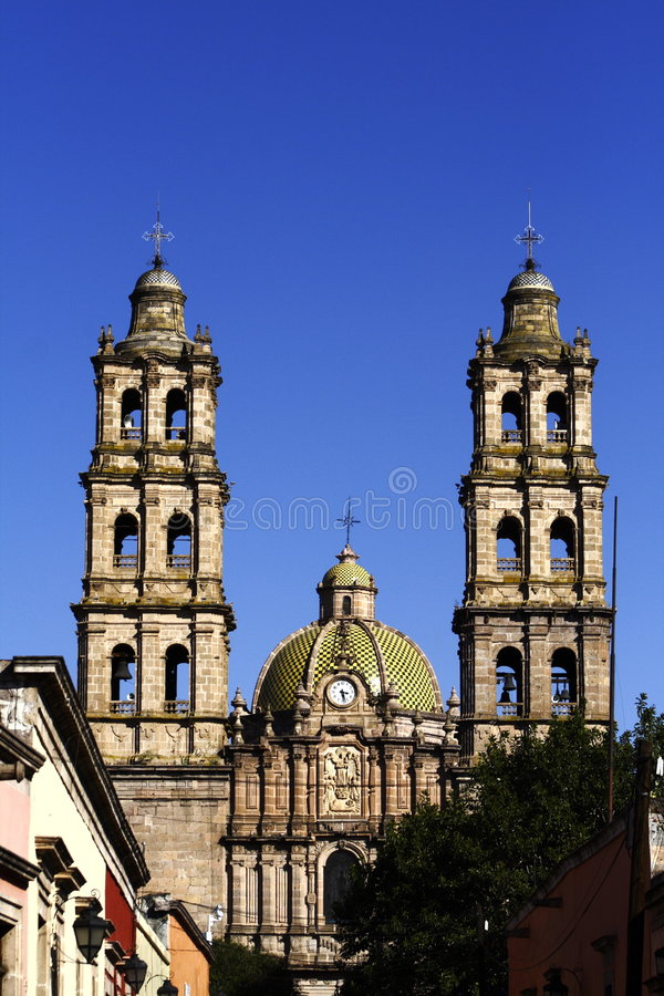 Download San Jose church stock image. Image of touristic, morelia - 7289927