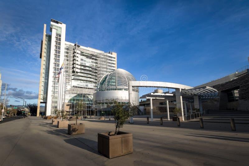 San Jose City Hall - San Jose, Califórnia, EUA imagem de stock royalty free