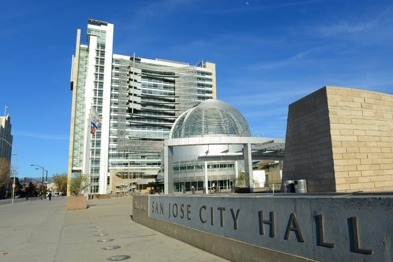 San Jose City Hall, San Jose, California, USA royalty free stock photography