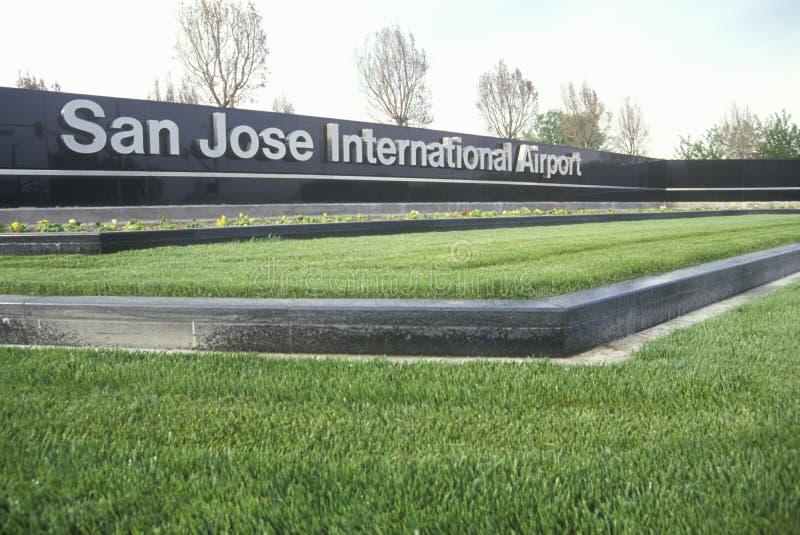 San Jose International Airport, San Jose, Califórnia imagens de stock