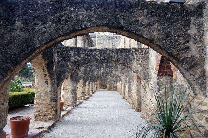 San Jose, San Antonio TX. San Jose Mission, San Antonio TX, One of five missions royalty free stock photo
