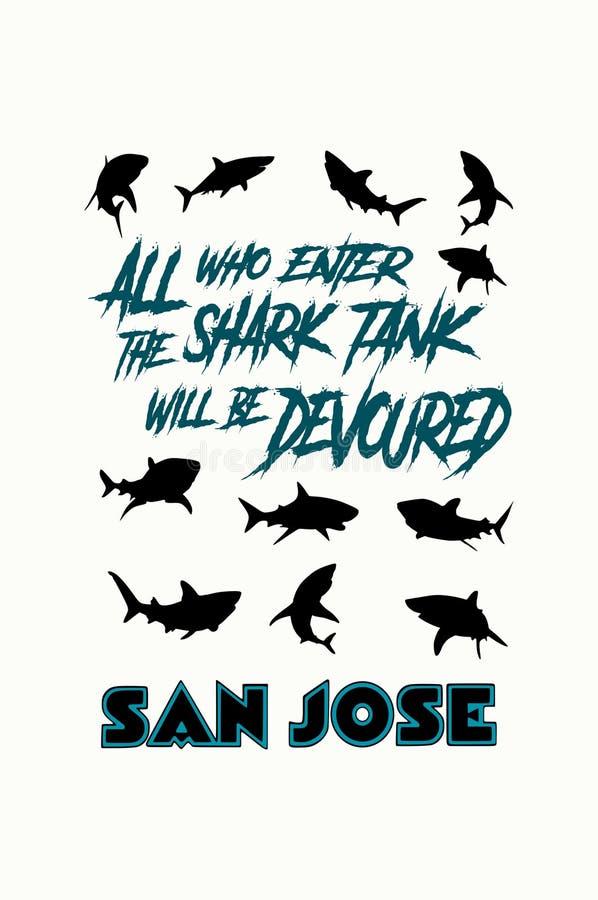 San Jose Sharks nhl απεικόνιση αποθεμάτων