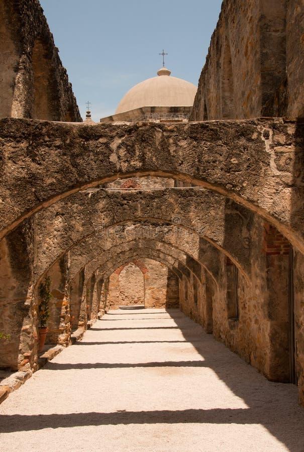 San- Joseauftrag in San Antonio stockbilder